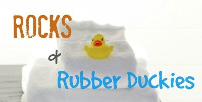 Rocks and Rubber Duckies by Makenna Gee found on JustMakenna.com -- Hope for the weary mom