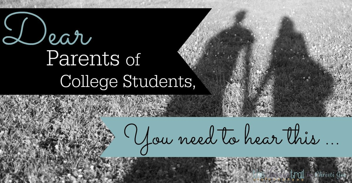 Parenting college students is a new stage, but it's not the end. Your child is moving on beyond your protection, but not outside your influence. God still has WORK for YOU to do. Hope and advice from other college parents. Scripture-based encouragement from the Bible story of Mordecai and Esther.