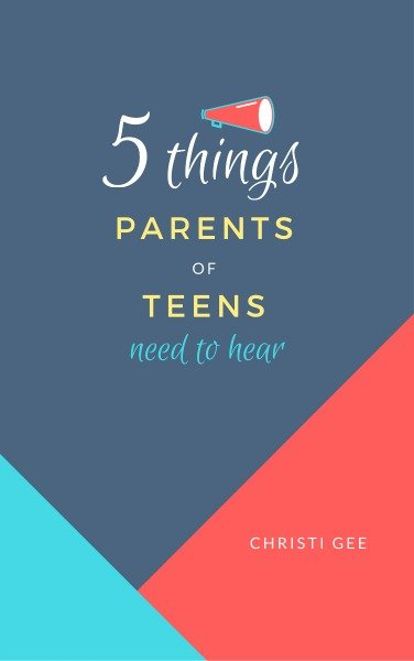 Free ebook for parents of teens