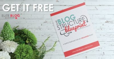 Elite blog academy course and free resource for successful bloggers