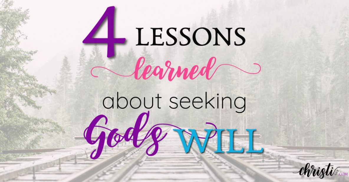 4 key takeaways about seeking God's guidance. How to know God's plan, trusting God in hard times, Seeking God's will are some of the most asked questions in the Christian faith