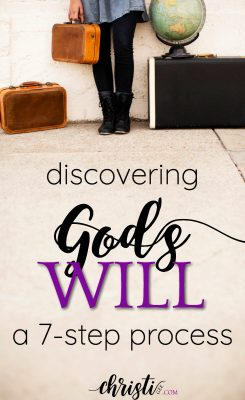 """How do I know God's will"" is one of the most-asked questions by Christians. This process of discerning God's will involves prayer, Scripture, and seeking God's plan through God's Word."