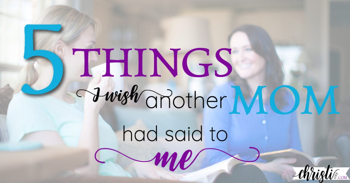 What I wish other moms had told me about parenting with grace
