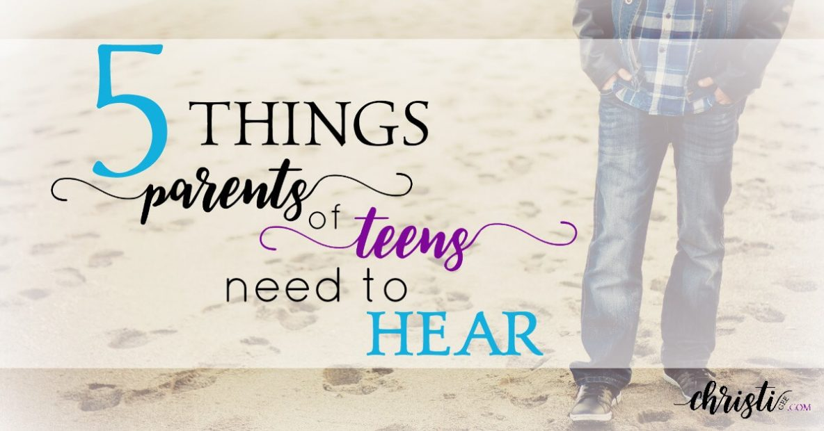 Parents of teens need hope in launching teenagers
