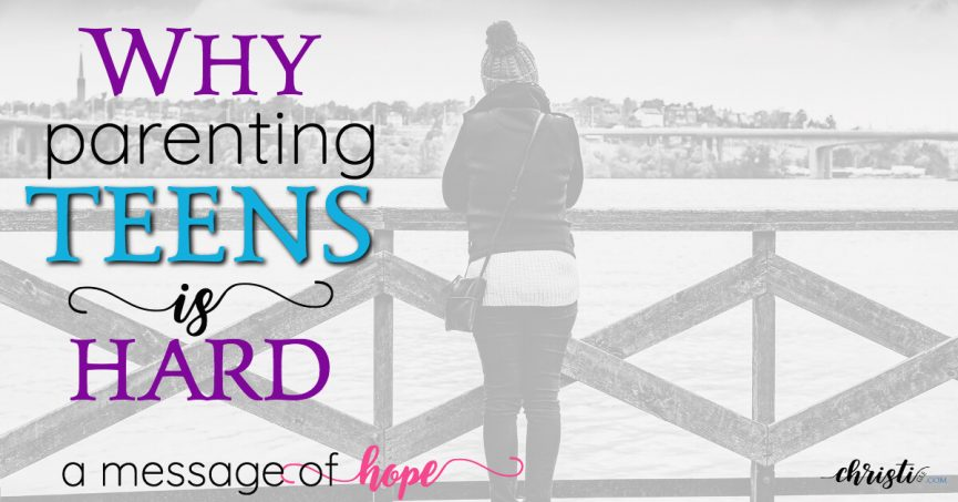 Christian parents need hope in raising teenagers