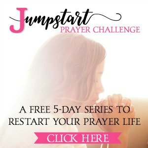 Jumpstart Prayer Challenge