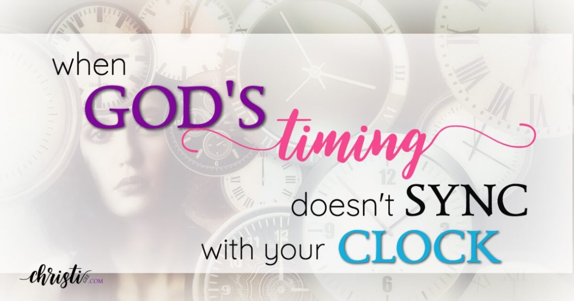 God's timing is perfect, but it doesn't always feel that way. If you're waiting on God and struggling to trust God's plan and cling to God' promises, this encouragement is for you. Christian quotes, faith quotes, Words of encouragement for women