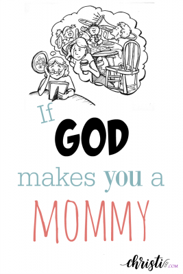"In the pattern of ""If you give a mouse a cookie,"" this cute post travels the journey of motherhood and reminds moms everywhere that God sustains you in each season of parenting. Mothers need encouragement and hope more than anyone! Biblical parenting"