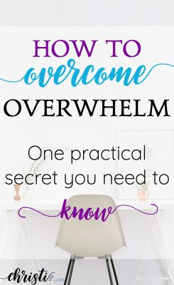 Fight stress and manage anxiety. Regain momentum. Tools and tips to help you overcome overwhelm and your to-do list before it overwhelms you.