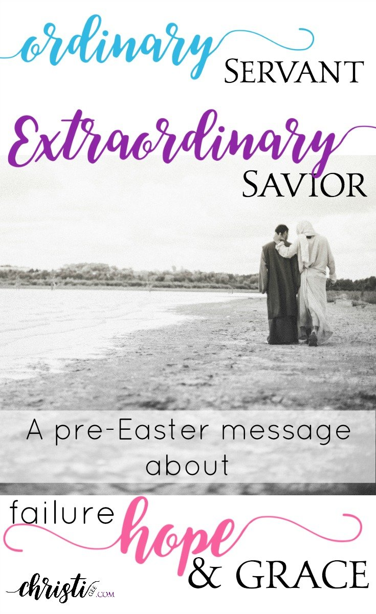 Free devotional series! Perfect for the days leading up to Easter. Based on Peter's denial and Jesus' restoration: 4 views of our amazing Savior seen through the lens of Peter's failure.