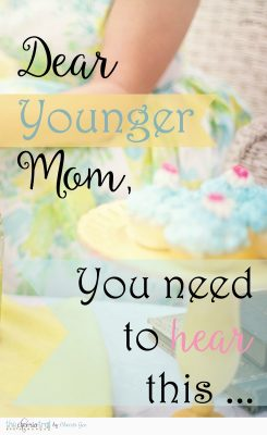 I bring good news! Hindsight is NOT 20/20 ... it's rose-colored. Click through for even more mom encouragement.  Parent encouragement quotes, wisdom from scripture, mom advice, Christian parenting via @ChristiLGee