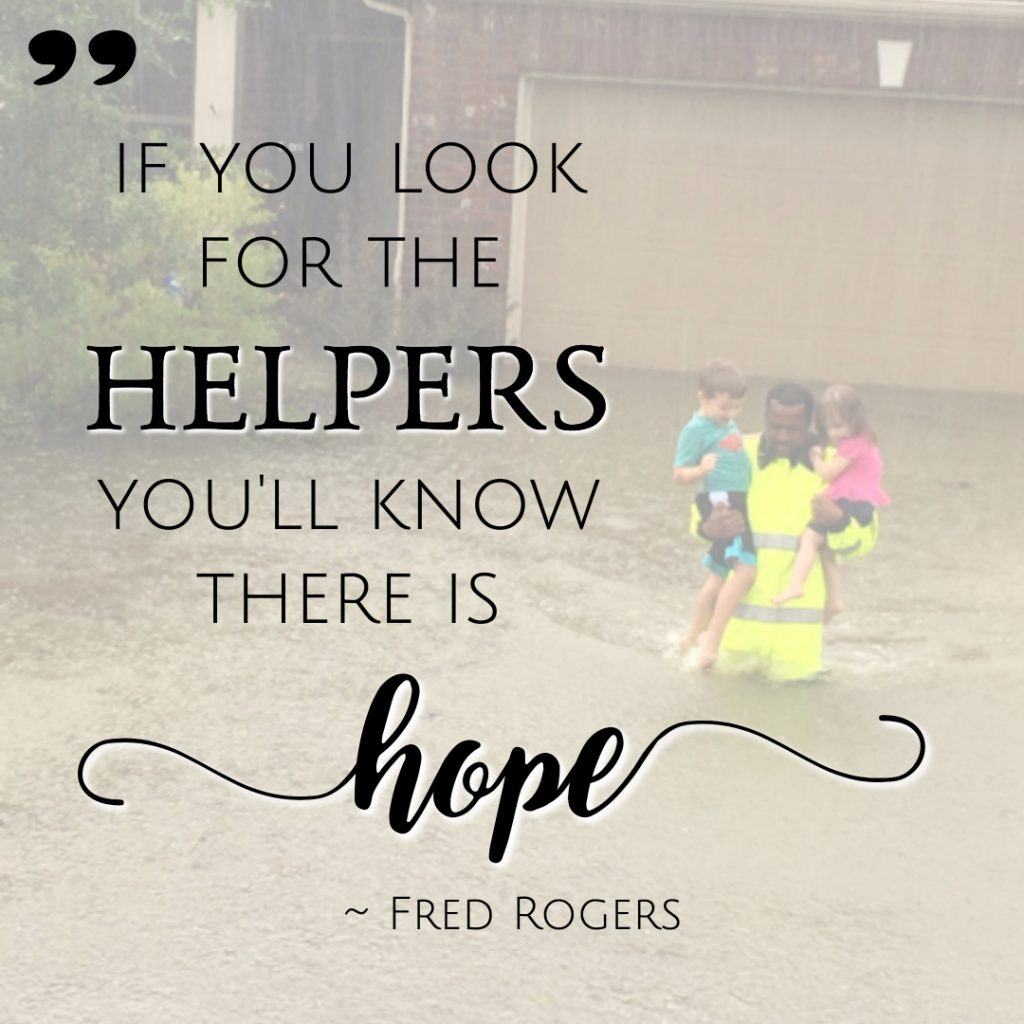 If you look for the helpers, you'll know there is hope